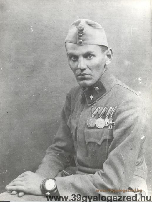 100 évvel ezelőtt halt hősi halált az egyik legvitézebb 39-es!