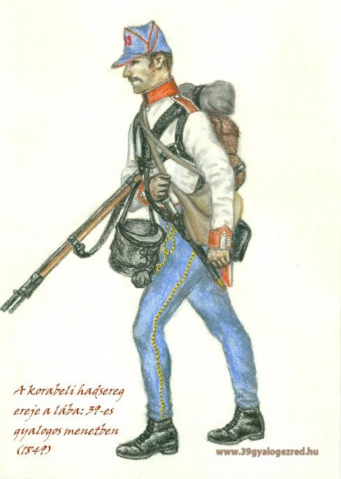 39-es életutak az 1848-49-es forradalom és szabadságharcban II. A 39. gyalogezredben tiszti előmenetelt nyert katonák