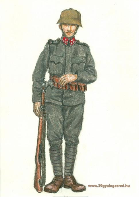 Lövészek figyelmébe: a gyalogos katona felszerelése 1918-ban