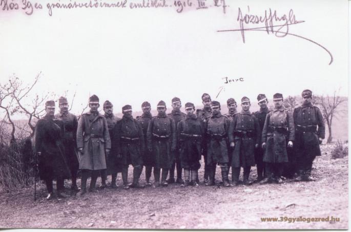 Daróczi Ambrus zászlós hőstette