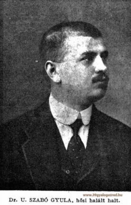 Háborús napló - Dr. U. Szabó Gyula t. zászlós