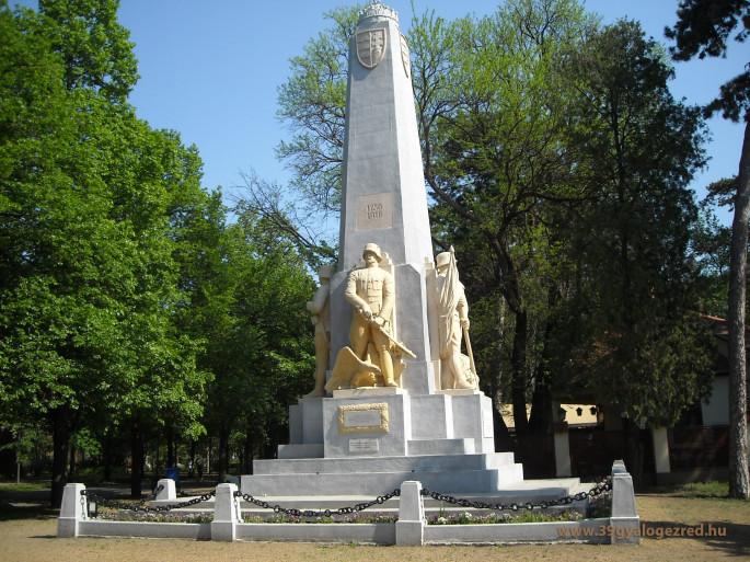 A császári és királyi 39. gyalogezred emlékműve