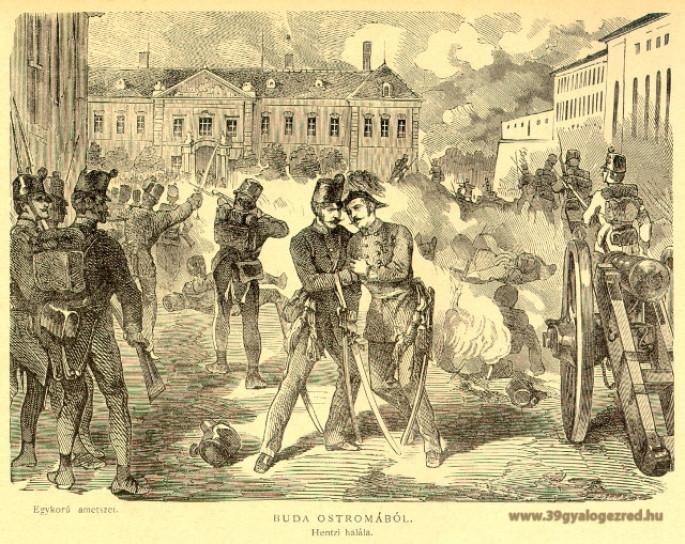 Honvédelem Napján: 39-es katona lőtte le Buda védőinek parancsnokát 170 évvel ezelőtt ezen a napon?