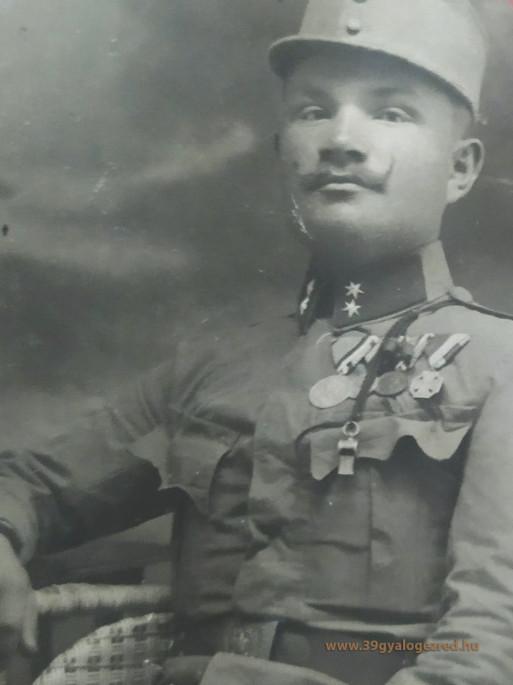 Egy nyomdafestéket nem bíró 39-es jelszó az 1. világháborúból