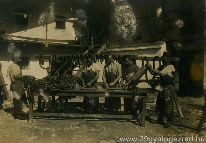 39-es panaszok élelmezési ügyben 1916-ból